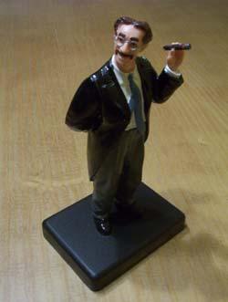 Figura de plástico de Groucho Marx